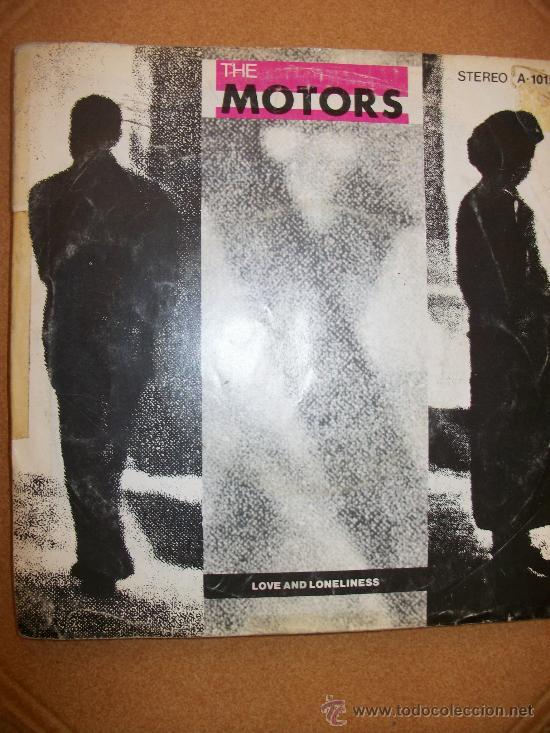 EP THE MOTORS – LOVE AND LONELINESS - (Música - Discos de Vinilo - EPs - Pop - Rock - New Wave Extranjero de los 80)
