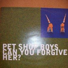 Discos de vinilo: EP PET SHOP BOYS – CAN YOU FORGIVE HER? - PROMO – EMI 1993 – SELLO EN CONTRAPORTADA. Lote 37256598
