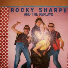 Discos de vinilo: EP ROCKY SHARPE AND THE REPLAYS – GET A JOB – SPANISH EDIT – 1981. Lote 37257736