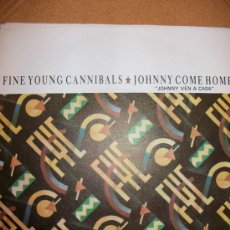 Discos de vinilo: EP FIVE YOUNG CANNIBALS – JOHNNY COME HOME – SPANISH EDIT 1985 - . Lote 37258054