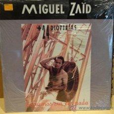 Discos de vinilo: MIGUEL ZAID + 24 DIOPTRÍAS. SEGUIMOS SIN VER NADA / LP 1992. P R E C I N T A D O . *****. Lote 37262786