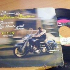 Disques de vinyle: ADRIANO CELENTANO (CANZONE / UN BIMBO SUL LEONE) SINGLE ITALIA RARO (EPI19). Lote 37338842