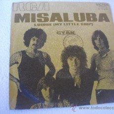 Discos de vinilo: CYAN. LOUISE 8 MY LITTLE SHIP) - MISALUBA. SINGLE 45 RPM DE 1971. Lote 37355644