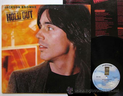 JACKSON BROWN / HOLD OUT / ORIG. EDIT. USA !!!! EXCELENTE !!!!!!!!!!!!!!!!! (Música - Discos de Vinilo - EPs - Pop - Rock Extranjero de los 70)