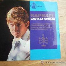 Discos de vinilo: SINGLE RAPHAEL CANTA A LA NAVIDAD.1965.. Lote 37264606