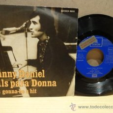 Discos de vinilo: DANNY DANIEL. VALS PARA DONNA. SINGLE ODEÓN - PROMO 1972. VINILO IMPECABLE. ***/****. Lote 37277169
