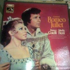 Discos de vinilo: ROMEO Y JULIETA CON FRANCO CORELLI Y MIRELLA FRENI. Lote 56653926
