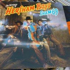 Discos de vinilo: SHAM 69 HERSHAM BOYS LP GATEFOLD COVER VINILO PUNK OI! SKINHEAD 1979 POLYDOR UK . Lote 37281256
