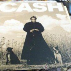 Discos de vinilo: JOHNNY CASH AMERICAN RECORDINGS LP VINILO MUY RARO! . Lote 79858649