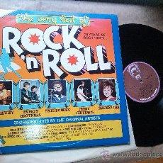 Discos de vinilo: THE VERY BEST OF ROCK´ N ROLL ( 30 ORIGINAL HITS ) - 2LP. Lote 37286021
