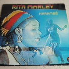 Discos de vinilo: RITA MARLEY ( HARAMBÉ ) 1983 - GERMANY LP33 ULTRAPHONE. Lote 37292647