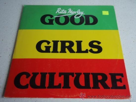 RITA MARLEY ( GOOD GIRLS CULTURE - GOOD GIRLS RAP - GIRLS INSTRUMENTAL ) JAMAICA-1984 (Música - Discos de Vinilo - Maxi Singles - Reggae - Ska)