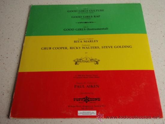 Discos de vinilo: RITA MARLEY ( GOOD GIRLS CULTURE - GOOD GIRLS RAP - GIRLS INSTRUMENTAL ) JAMAICA-1984 - Foto 2 - 37292837