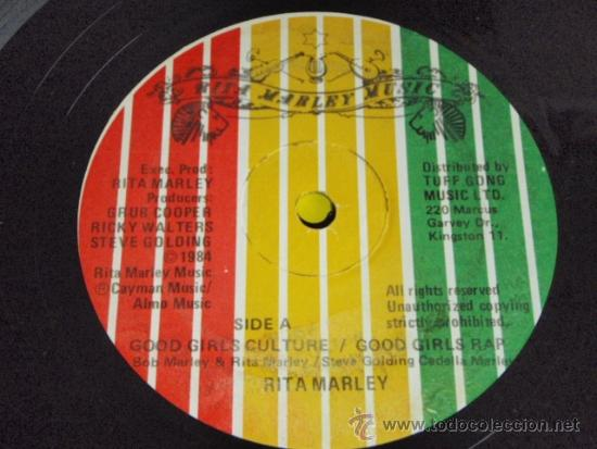 Discos de vinilo: RITA MARLEY ( GOOD GIRLS CULTURE - GOOD GIRLS RAP - GIRLS INSTRUMENTAL ) JAMAICA-1984 - Foto 4 - 37292837