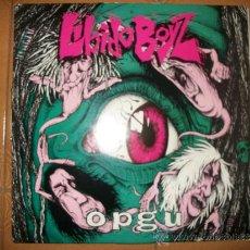 Discos de vinilo: LP LIBIDO BOYZ – OPGU – MUSIC FOR NATIONS – METAL BLADE – HARDCORE PUNK. Lote 37293145