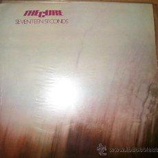 Discos de vinilo: LP THE CURE – SEVENTEEN SECONDS – FICTION AGE POLYDOR 1980 – EDICION ESPAÑOLA. Lote 37293546