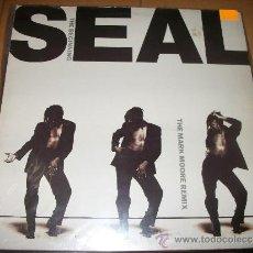 Discos de vinilo: 45 LP - SEAL - THE BEGINNING - MARK MOORE REMIX. Lote 37293758
