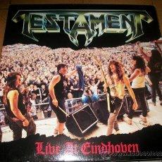 Discos de vinilo: LP - TESTAMENT - LIVE AT EINDHOVEN. Lote 37295184