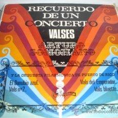 Discos de vinilo: ARTURO SOMOHANO VALSES. Lote 37296282