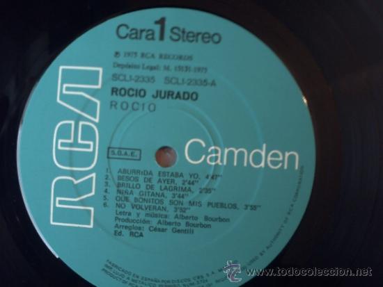 Discos de vinilo: ROCIO RCA 1975 - Foto 3 - 37299665