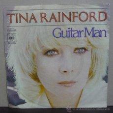 Discos de vinilo: TINA RAINFORD - GUITAR MAN - SINGLE ARISTA - CBS S 5319 - GERMANY 1977 - SR-*2. Lote 37299846