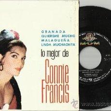 Discos de vinilo: CONNIE FRANCIS EP GRANADA ESPAÑA 1964. Lote 37303649