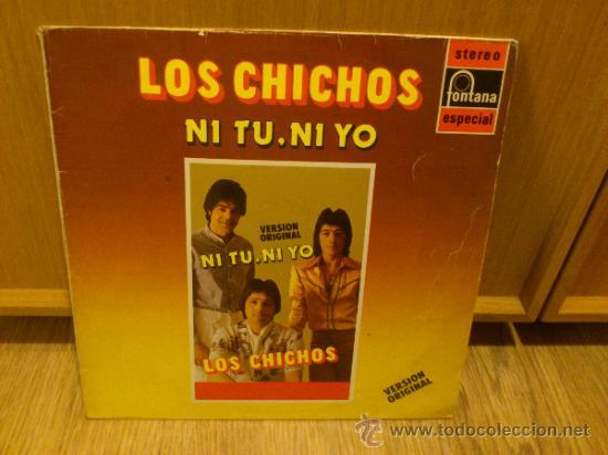LOS CHICHOS NI TU NI YO LP VINILO SUPER RARO! SIMILARES A LOS CHUNGUITOS RUMBA FLAMENCA (Música - Discos - LP Vinilo - Flamenco, Canción española y Cuplé)