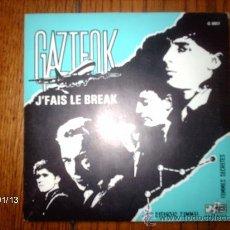 Discos de vinilo: GAZTEOK - FEMMES SECRET + J´FAIS LE BREAK . Lote 37369082