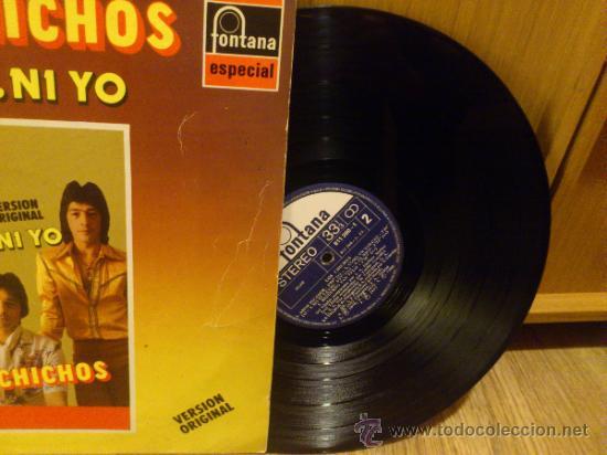 Discos de vinilo: Los chichos Ni tu ni yo lp vinilo Super raro! Similares a Los chunguitos Rumba flamenca - Foto 3 - 37304587