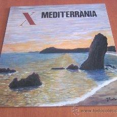 Discos de vinilo: COBLA MEDITERRÀNIA LP SARDANES ORIGINAL ESPAÑA 1989. Lote 37308494