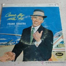 Discos de vinilo: FRANK SINATRA ( IT'S NICE TO GO TRAV'LING - COME FLY WITH ME - ISLE OF CAPRI ) EP45 SKANDINAVIA. Lote 37318610