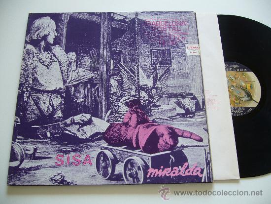 SISA. LP. MIRALDA. EDIGSA 1982 GATEFOLD COMPLETO (Música - Discos - LP Vinilo - Cantautores Españoles)