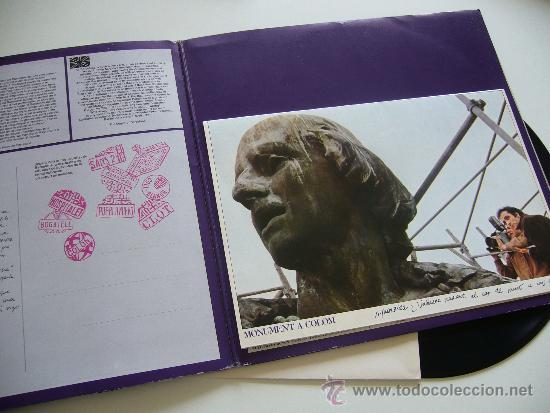 Discos de vinilo: Sisa. LP. Miralda. Edigsa 1982 Gatefold completo - Foto 2 - 37319210