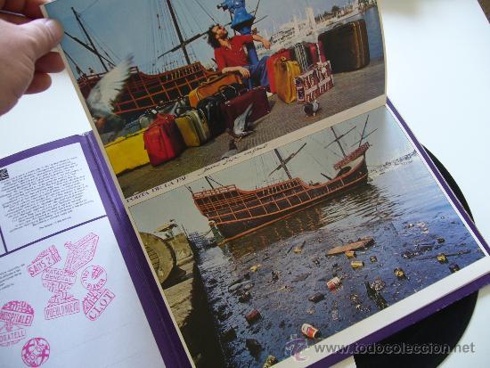 Discos de vinilo: Sisa. LP. Miralda. Edigsa 1982 Gatefold completo - Foto 3 - 37319210