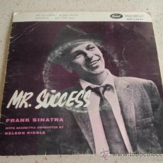 Discos de vinilo: FRANK SINATRA - MR. SUCCESS, DENMARK EP CAPITOL RECORDS. Lote 37320565