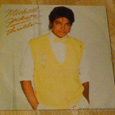 Discos de vinilo: MICHAEL JACKSON - THRILLER / THINGS I DO FOR YOU - (1983 EPIC / CBS) SINGLE SPAIN EDITION. Lote 37324288