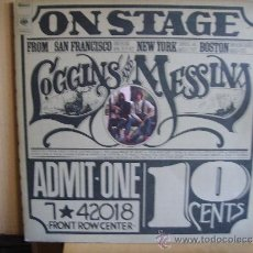 Discos de vinilo: LOGGINS AND MESSINA --- ON STAGE. Lote 37325790