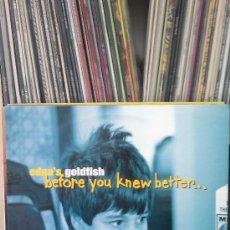 Discos de vinilo: EDNA'S GOLDFISH - BEFORE YOU KNEW BETTER...( SKA ). Lote 37327228