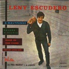 Discos de vinilo: EP-LENY ESCUDERO-IBEROFON 5060-1963. Lote 37334677