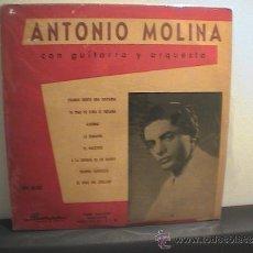 Discos de vinilo: DISCO 25 CM ANTONIO MOLINA ARGENTINA. Lote 37337142