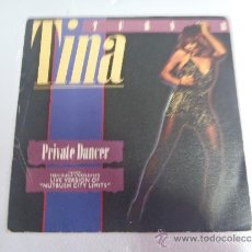 Discos de vinilo: SINGLE TINA TURNER PRIVATE DANCE. Lote 37337903