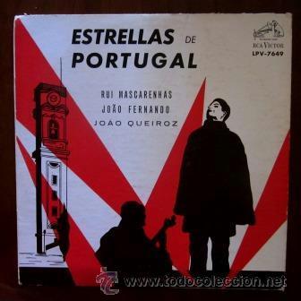 ESTRELLAS DE PORTUGAL - RUI MASCARENHAS, JOAO FERNANDO Y JOAO QUEIROZ - EDITADO EN VENEZUELA (Música - Discos - LP Vinilo - Otros estilos)