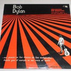 Discos de vinilo: BOB DYLAN - GRABADO EN DIRECTO - DOCUMENTO INEDITO DE SUS PRIMEROS AÑOS. Lote 37395236