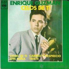 Discos de vinilo: ENRIQUE GUZMAN EP SELLO CBS EDITADO EN ESPAÑA AÑO 1963. Lote 37340271