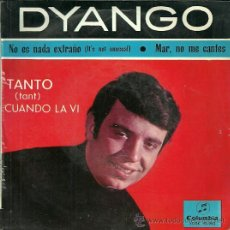Discos de vinilo: DYANGO EP SELLO COLUMBIA AÑO 1965 EDITADO EN ESPAÑA. Lote 37340431