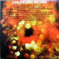 Discos de vinilo: LOS EXITOS DE CBS - LP . Lote 37350550