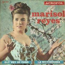 Discos de vinilo: MARISOL REYES SINGLE SELLO ACROPOL EDITADO EN ESPAÑA AÑO 1970 AUTOGRAFIADO. Lote 37352890