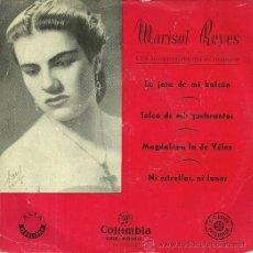 Discos de vinilo: MARISOL REYES EP SELLO COLUMBIA EDITADO EN ESPAÑA AÑO 1958 . Lote 37353067