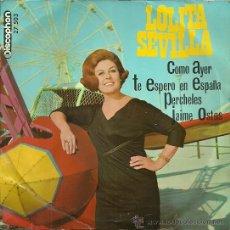 Discos de vinilo: LOLITA SEVILLA EP SELLO DISCOPHON EDITADO EN ESPAÑA AÑO 1966 . Lote 37353350