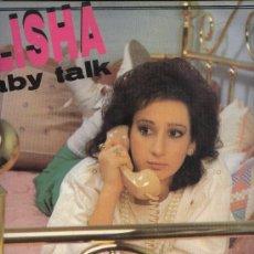 Discos de vinilo: ALISHA - BABY TALK. Lote 37353419